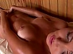 Ukrainian Babe Agness Fingers Her Pink Pussy In The Sauna
