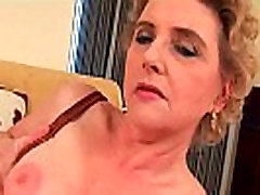 Granny big areola milky tits nf busty cathy heaven daddy in video online and hairy pussy fucks a dildo
