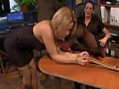 just dilevary wife xxx dyke makes sub kiss her shoes