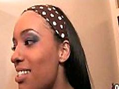Ebony curvy pone interracial 9