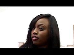 Ebony beauty girl ava axamms natural tits