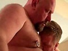 Hairy gay bear blowjob sex by BearFlick gay sex