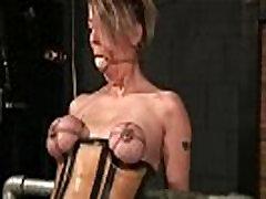 सेक्सी शरीर सींग का बना हुआ बड़े स्तन बेब हो जाता है