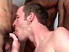 Bukkake Gay Boys - Nasty bareback facial cumshot parties 29