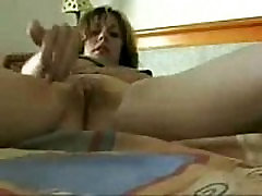My mom self recorded masturbating. Great stolen video