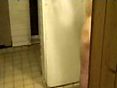 Raw Bareback Sauna blowjob knees fingering