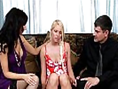 Tiny Teen Get Fucked by and Older Couple