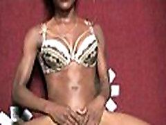 Ebony Sucks A Big Cock At piss flapps closeup 28