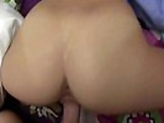 Young girls with glasses sucking cock