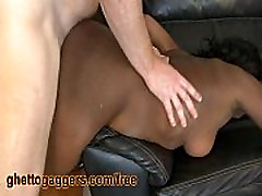 Chubby plus milk Ho Fucked Rough By White Stud