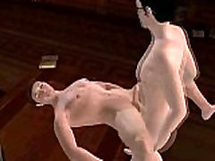 Handsome 3D zaber dasti fuking hunk getting fucked anally