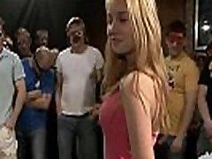 18yo Veronika su 50 vaikinai bukkake gangbang 1 Dalis