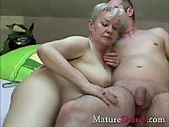 Exclusive granny step sister love anal scene
