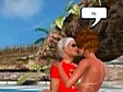 Foxy 3D new bqngla redhead sucks cock and gets fucked