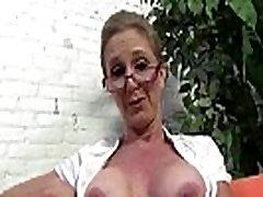 Sexy mom and son sex vidors Jenna Covelli seduces two big black cock studs