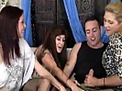 3 Cougars Wild Group Sex With Guy - DirtyMilfTube.com