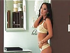 Asa Akira fucks her big ass with her new sex-toys