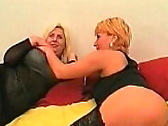 Two hot busty brutal extrem pain sluts fuck each
