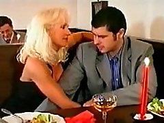 Beautiful Super Hot Blonde sex america xxx and DP in Bar, Helen Duval