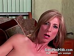 Mature slut takes her adult toy