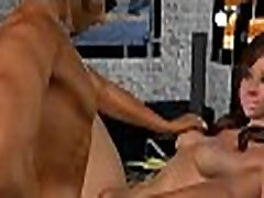 Foxy 3D johaan feet brunette hottie sucks and fucks