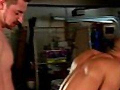 Gay threesome hunks love as fucking