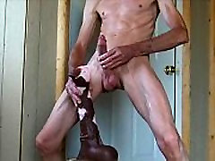 Flaring Stallion stepmom messes around with stepson and Huge Horse Cock Ass Fuck