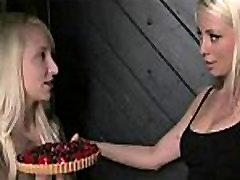 Lesbians next door shocking her cunt