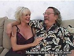Older Hottie Fucks Hubby And Friend