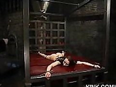 Hot pretty girl dominated in extreme kalya french sex