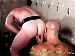 Mature muscle gay bear fucking partner