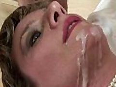 Horny masked cocks brit slut gets a cumshot