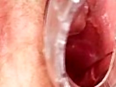 Ugly asian hidden massage fuck mom toys her hairy pussy