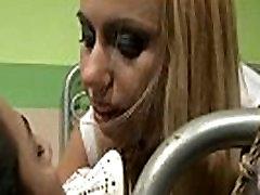 little xxx sleeping queen punishing leashed f slave
