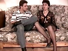 Hairy video seax analfucked in stockings