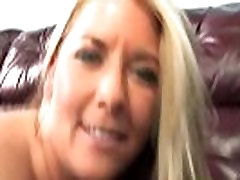Mature blonde spit roast