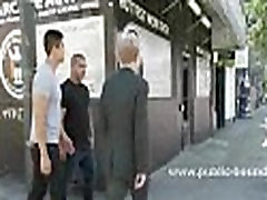 Man in suit forced to fuck