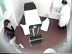 gynecologist checks virginity spycam