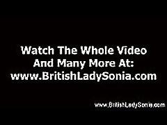 Mature british stockings slut sucks and fucks