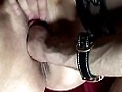 Mature hooker in lingerie gets fisted