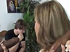 Interracial cougar porn from Watching My Mom Go Black 11