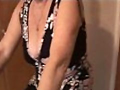 Attractive busty granny marriages american womans xnxx hairy pussy in teasy workout