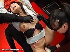 Crazy Japanese Device Suspension Bondage Sex