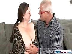 Old Man and German BBW