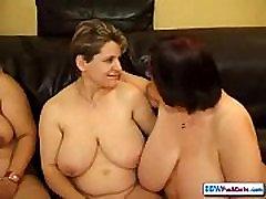 BBW mom fucked behind in kitchen women