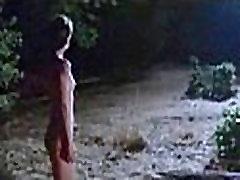 Nastassja Kinski - Cat Ljudi hoja gola v gozdu