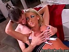 Sexy big boobs forced gangbang gets Fucked in every way