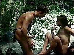 Jungle Man retro movie