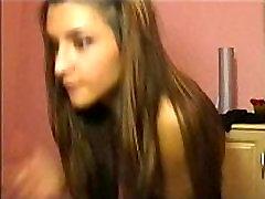 Armas webcam tüdruk Jasmin eemaldamine ette topless