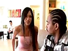Asian tranny misleads a black brother